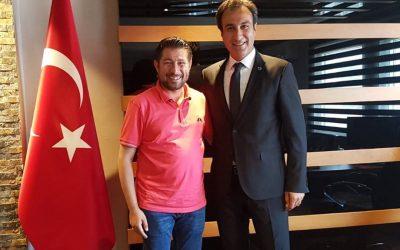 ŞIRNAKGİAD Başkanı'ndan Ziyaret